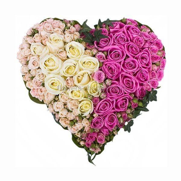 сердце из цветов: 27 тыс изображений найдено в Яндекс.Картинках