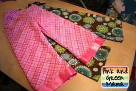 Pink and Green Mama: EASY Homemade Pajama Pants for Kids!