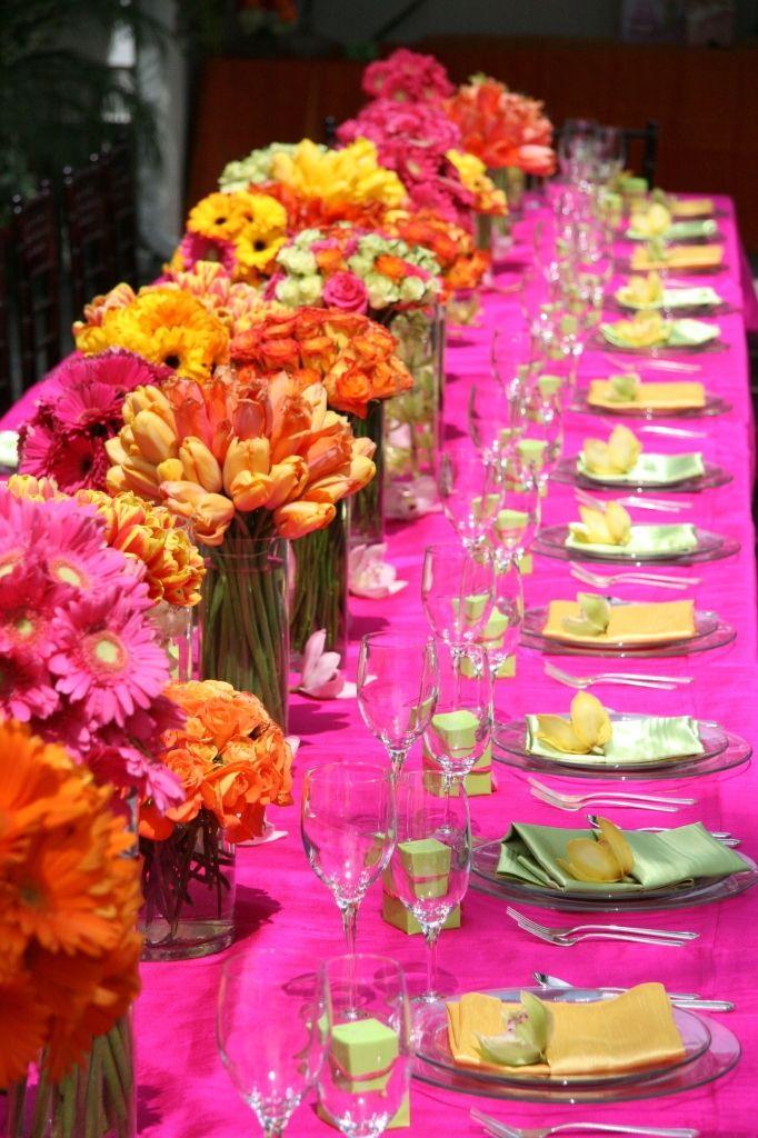 Photo Via Thoughts Pinterest Wedding Wedding Reception Table