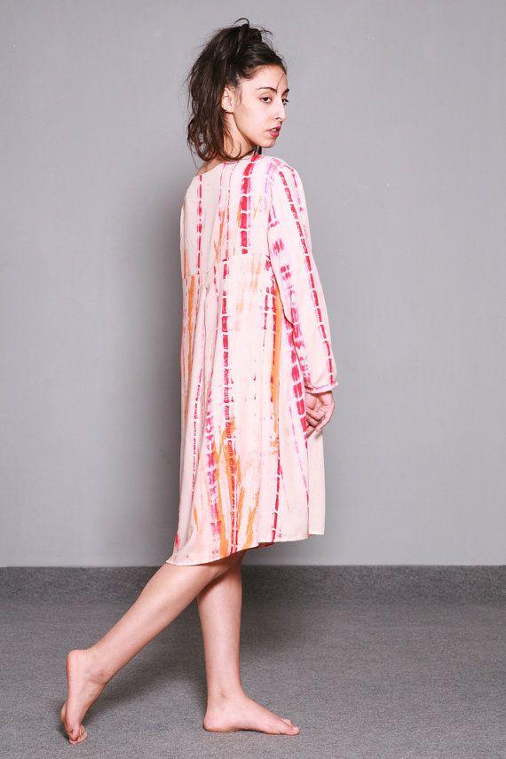 Loose Fitting Knee Length Dress