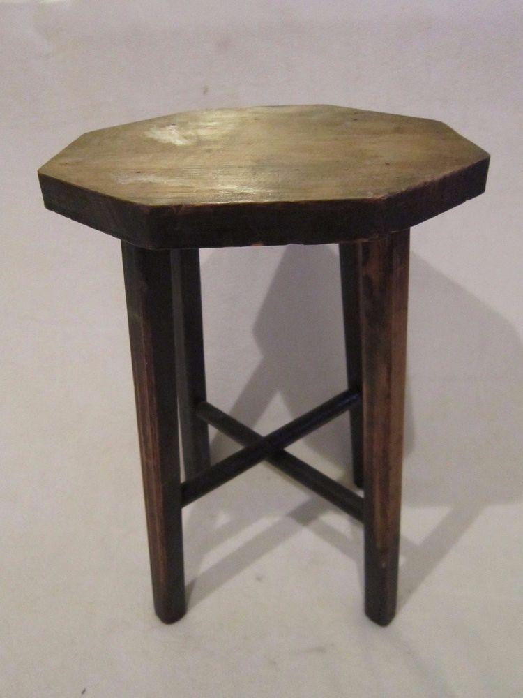 Groovy Antique Vintage Arts Crafts Mission Wooden Garden Plant Unemploymentrelief Wooden Chair Designs For Living Room Unemploymentrelieforg