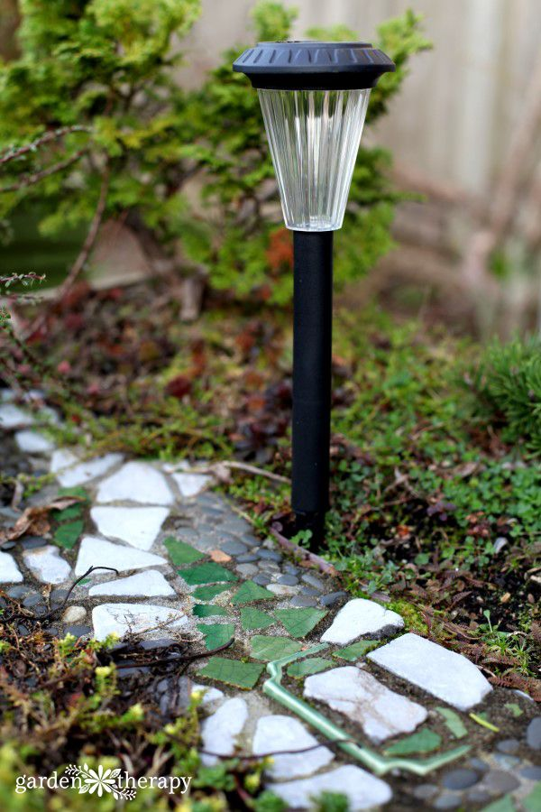 Solar Light Miniature Garden Street Light