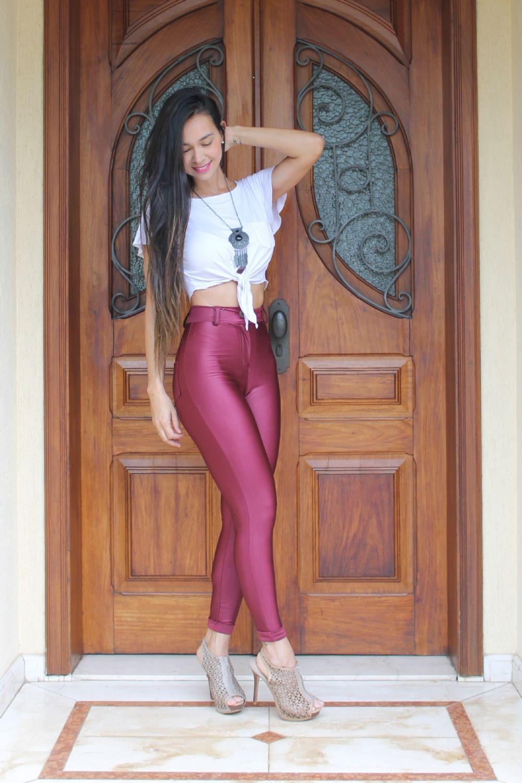 285ababf0b8ef Disco Pants, Spandex, Leather Pants, Leggings, Girls, Beautiful, Sexy,