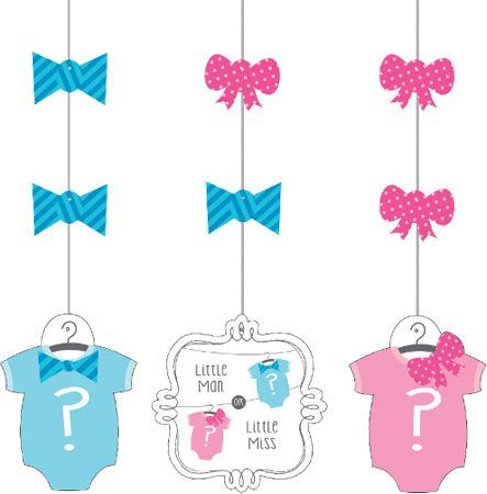 Baby Shower Bow or Bowtie Giant Banner