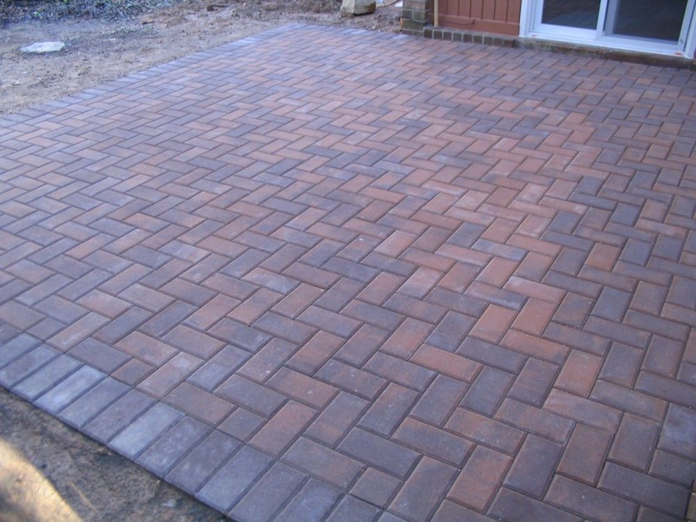 brick patio google search - Patio Brick Designs