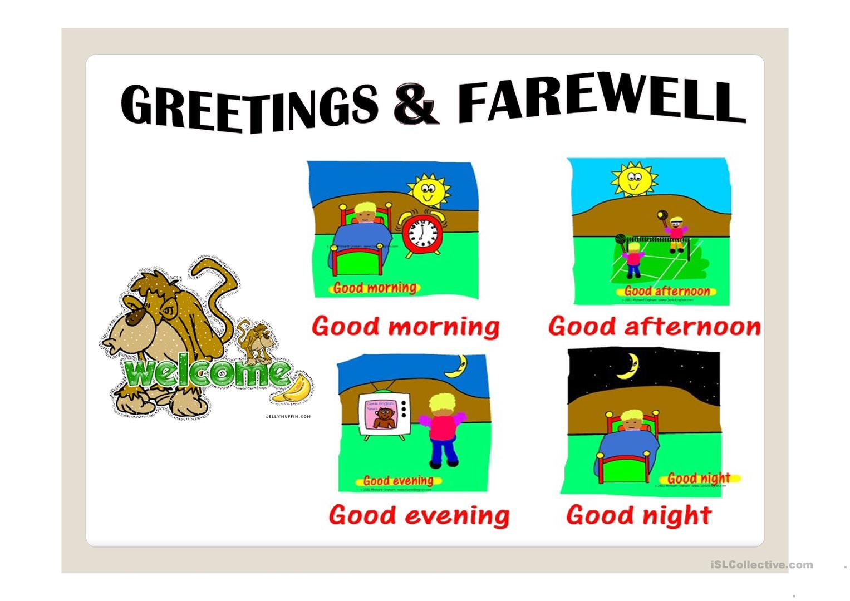 Resultado De Imagen Para Greetings Flash Cards
