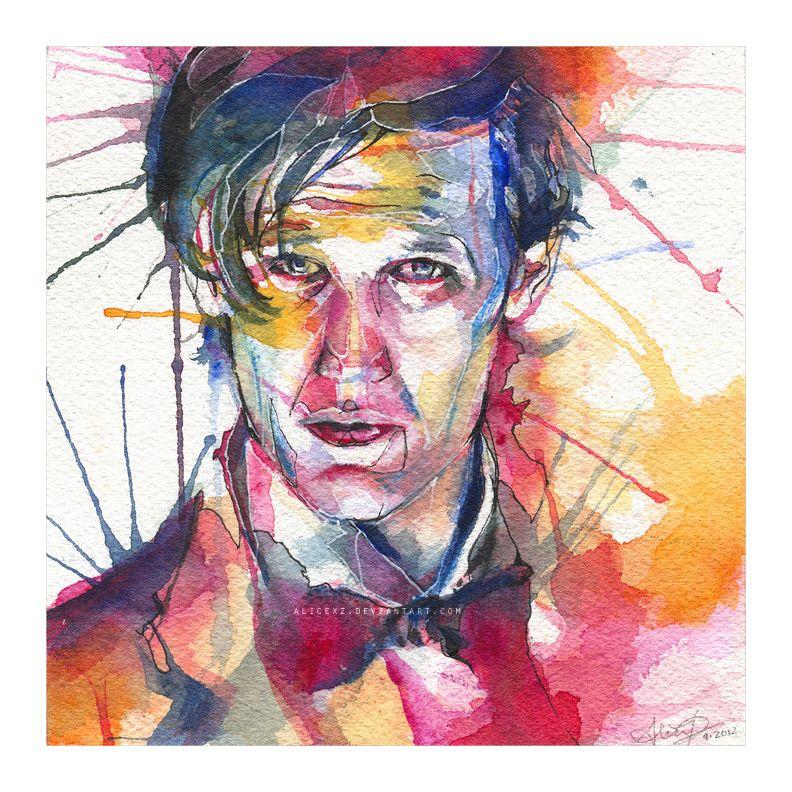 Eleven (watercolor) by alicexz.deviantart.com on @DeviantArt