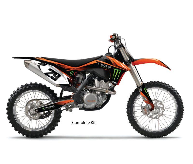 Factory Effex   2014 MX Monster Graphic Kits   KTM