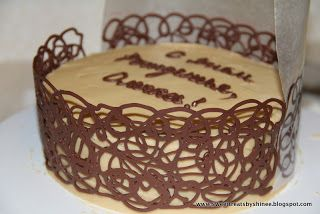 How To Make Chocolate Cage Easy Chocolate Cake Decoration