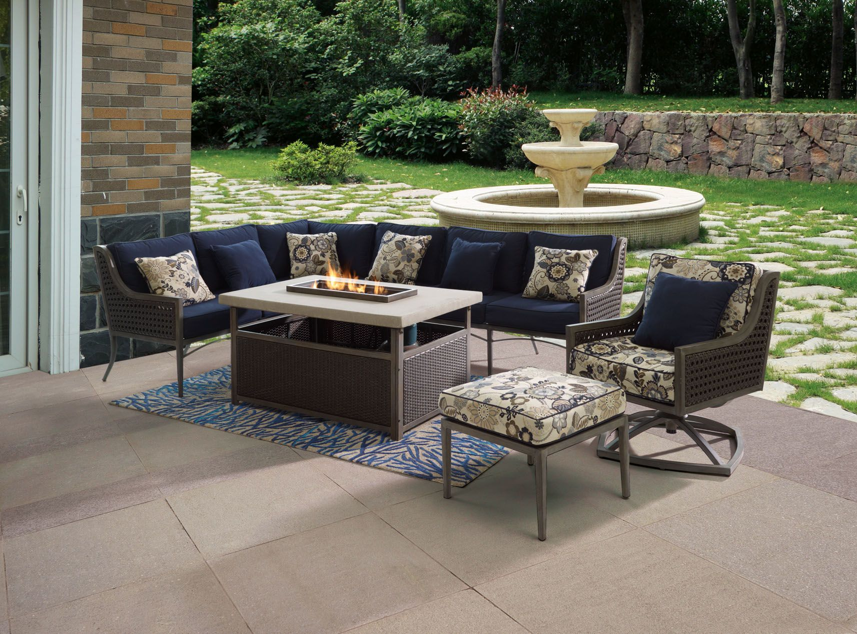 Patiologic | Outdoor furniture sets, Outdoor decor ... on Fine Living Patio Set id=44815
