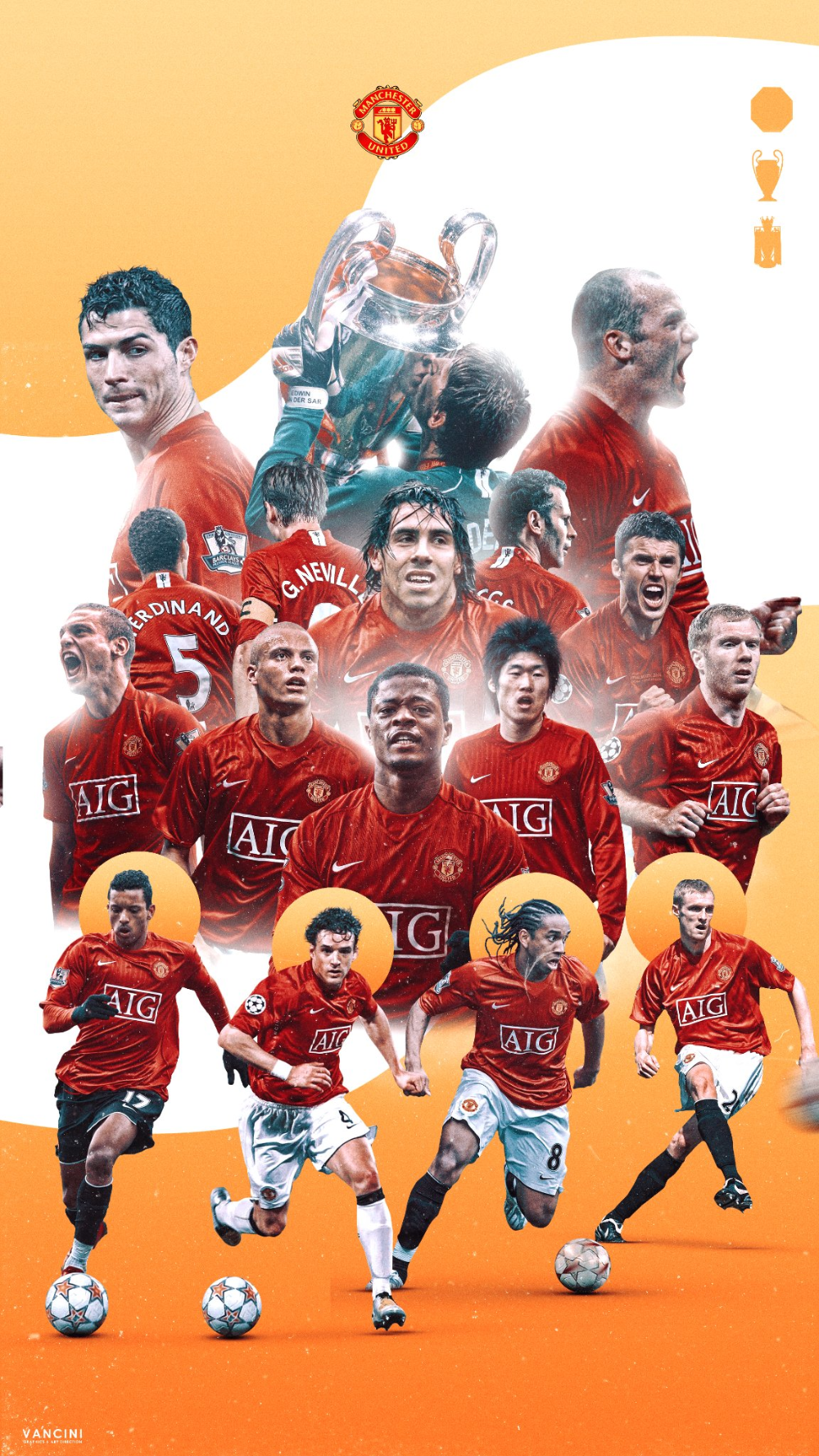 Vancini On Twitter In 2020 Manchester United Legends Manchester United Poster Manchester United Team