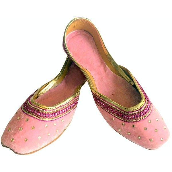84a616b08f05 Buy indian khussa Slippers Online Now. Step n Style Women Flat Velvet  Khussa Shoes Punjabi Jutti Rajasthani... ❤ liked…