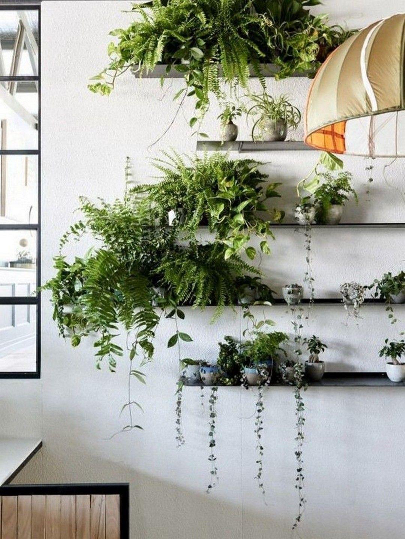 25 Amazing Wall Plants Decor For Cozy Living Room Indoor Plant Wall Plant Wall Plant Decor