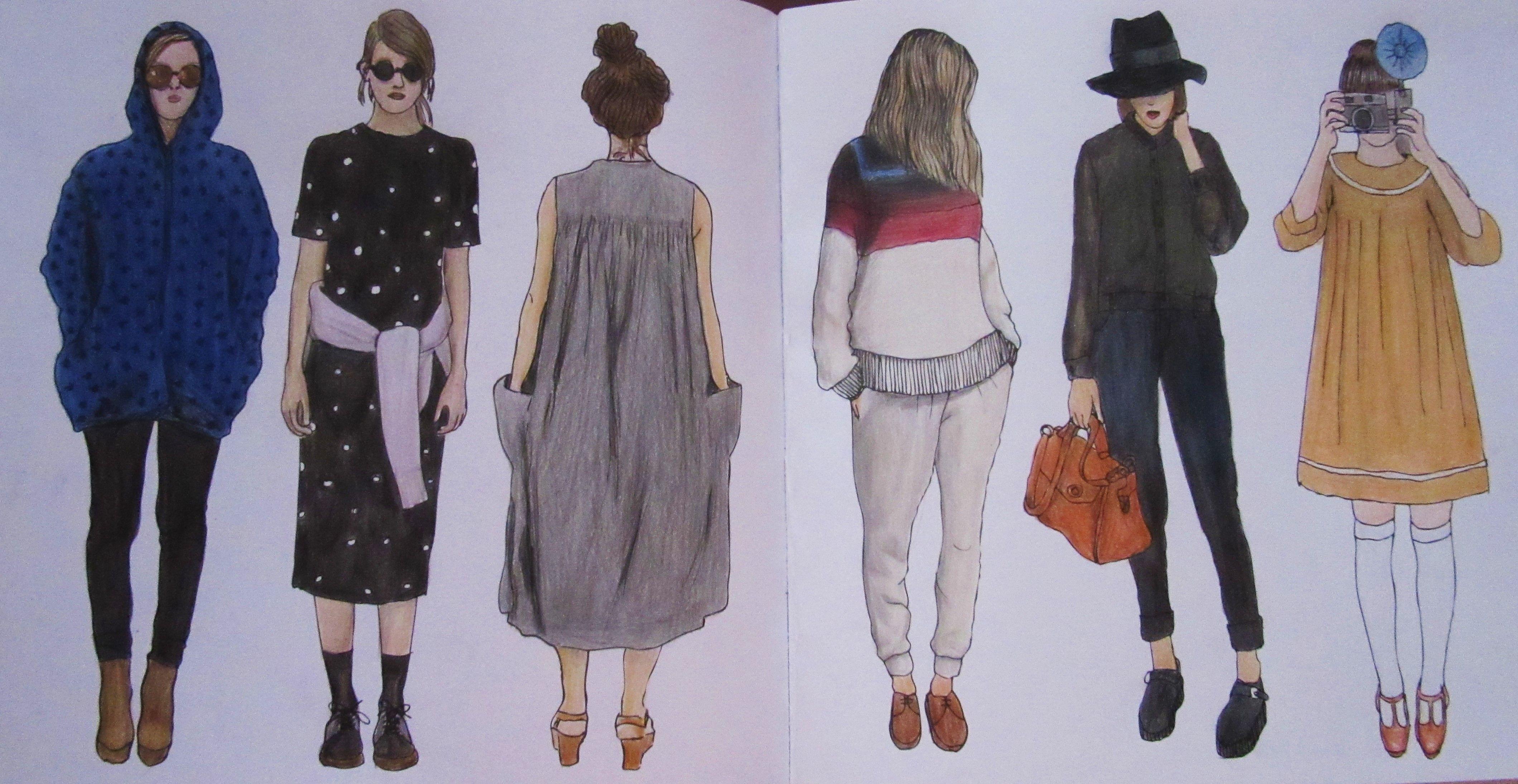 Zoe De Las Cases Parisian Street Style Colouring Book Paris Michelle Street Style Parisian Paris Street Style Street Style