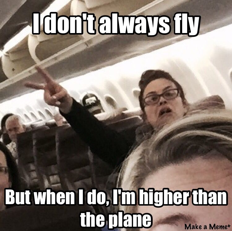 They Should Offer General Anesthesia Before Flights Just Saying Funny Jokes Memes Funny