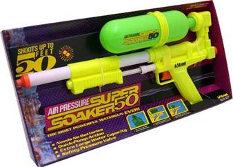 Do kids nowadays even have water fights anymore? I pity the technology suckered kids of today. Get out there and drench some foos!