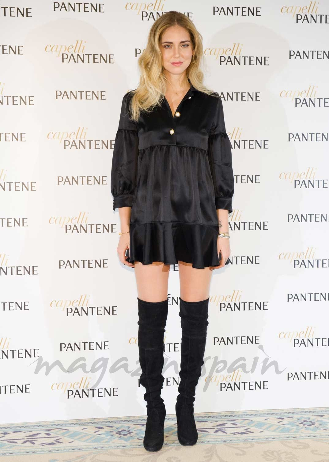 Chiara Ferragni, lección de estilo con un little black dress