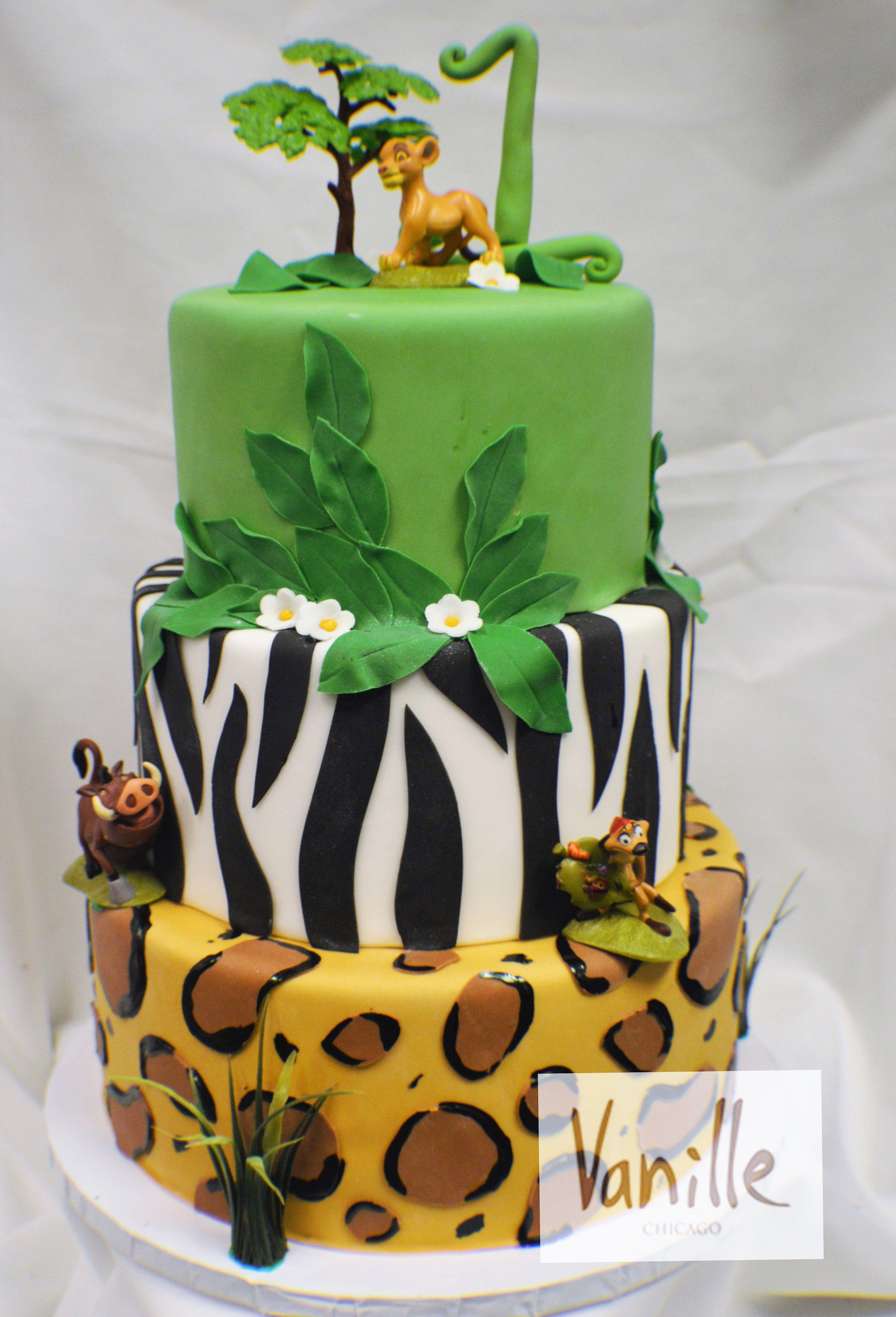 vanille chicago lion king safari birthday cake vck64 vanille on minnie mouse birthday cakes chicago