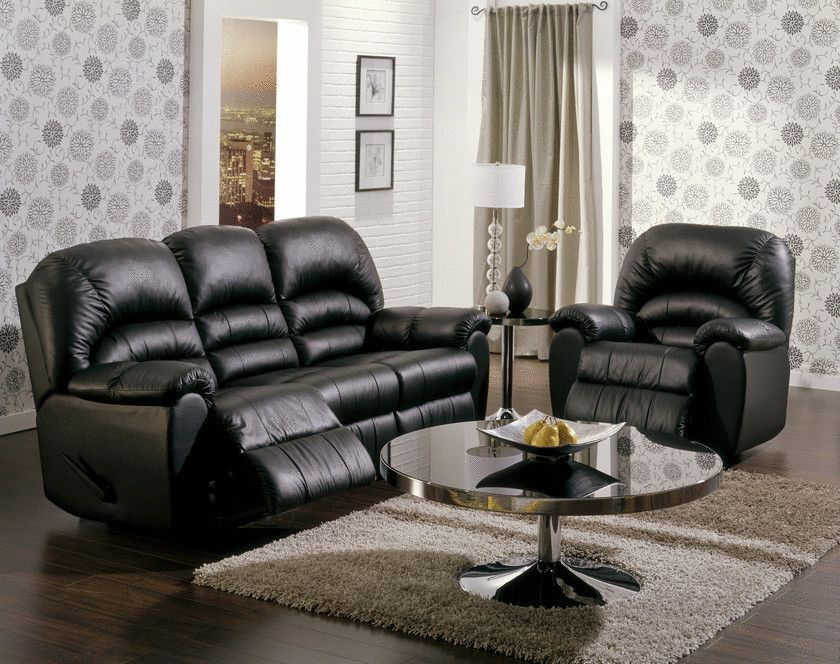 Admirable Dual Reclining Sofa And Matching Recliner Chair Leather Machost Co Dining Chair Design Ideas Machostcouk
