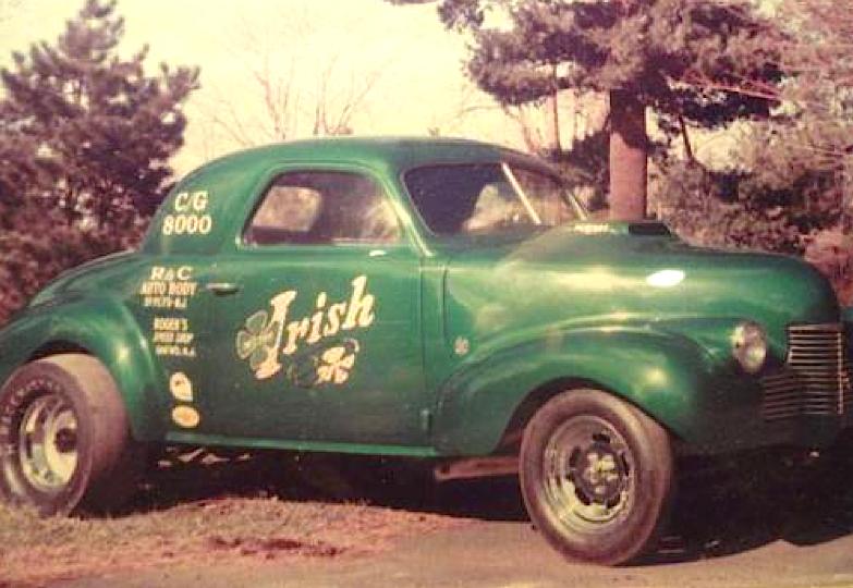 Irish 1941 Chevy Coupe Gasser Drag Racing Drag Racing Cars Car Humor