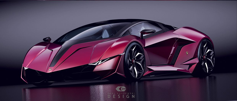 Lamborghini Concept Car Resonare By Paul Czyzewski Future Cars