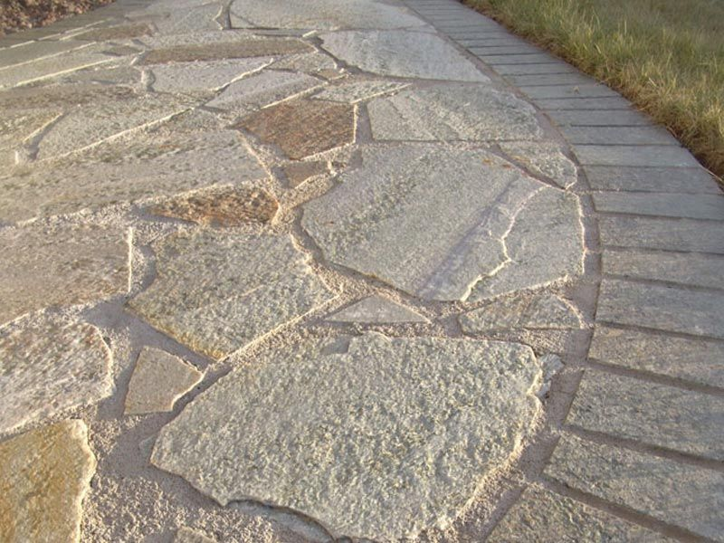 Red Granite Ohio : Patio paver stone garden path canton akron hudson