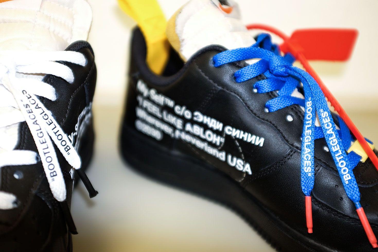 fd13cda3930a09 Virgil Abloh s Off-White x Nike Air Force 1 Inspires Custom ...