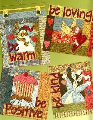 BE ATTITUDES, From Art To Heart, Sewing & Quilting Patterns Book NEW 4 • CAD…