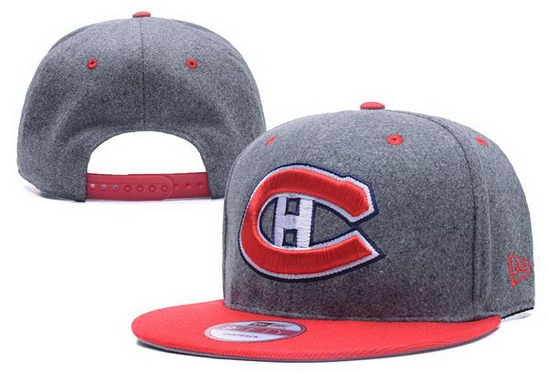 2017 newest NHL Montreal Canadiens Hockey Snapback hat hot summer mens  adustable cap only $6/