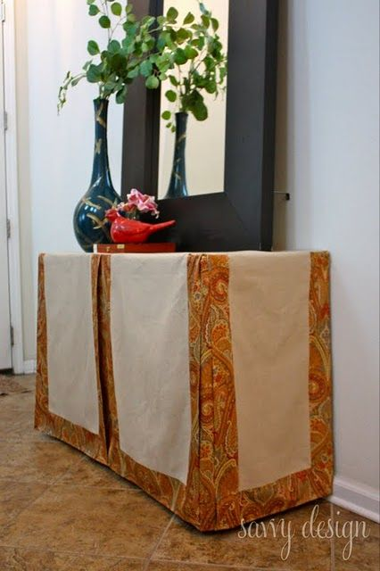 Gentil How To Make A Tailored Table Skirt