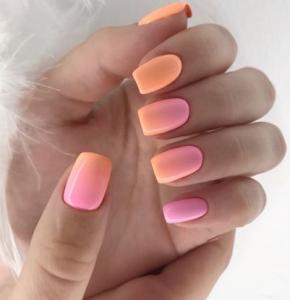 summer nail inspo acrylicsummernails  ombre nails