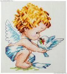 Картинки по запросу вышивка ангел | Cross stitch angels ...