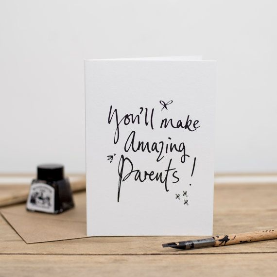 youll make amazing parents pregnancy congratulations card - Pregnancy Congratulations Card