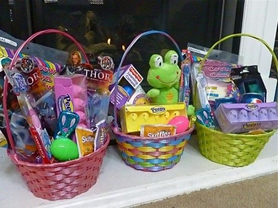 Easter basket fillers creative creations pinterest easter did you take the easter basket on a budget challenge this year did you do as well as this momma of 3 boys kmart helped her customize each basket and still negle Image collections
