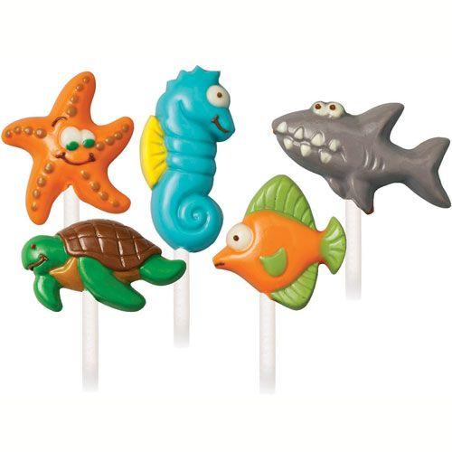 Wilton Lollipop mold Sea Creatures