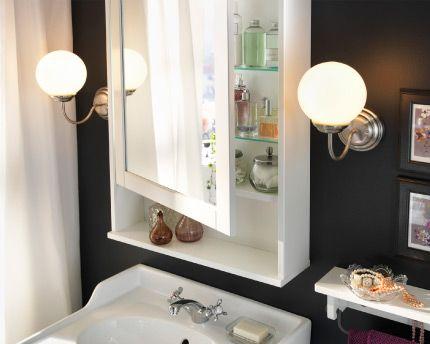 miroir ikéa Idées déco appart Pinterest Ikéa, Miroirs et Baies - Meuble Avec Miroir Pour Salle De Bain