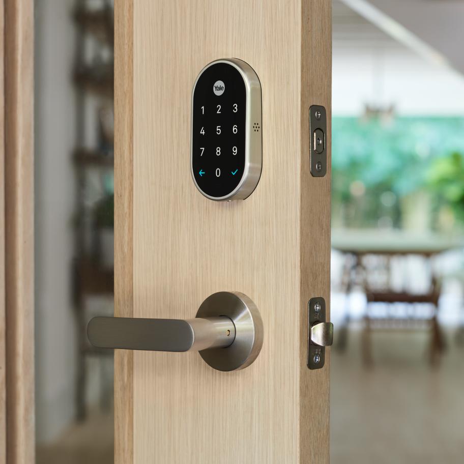 Key Free Smart Deadbolt Google Store Smart Door Locks Smart Deadbolt Yale Locks