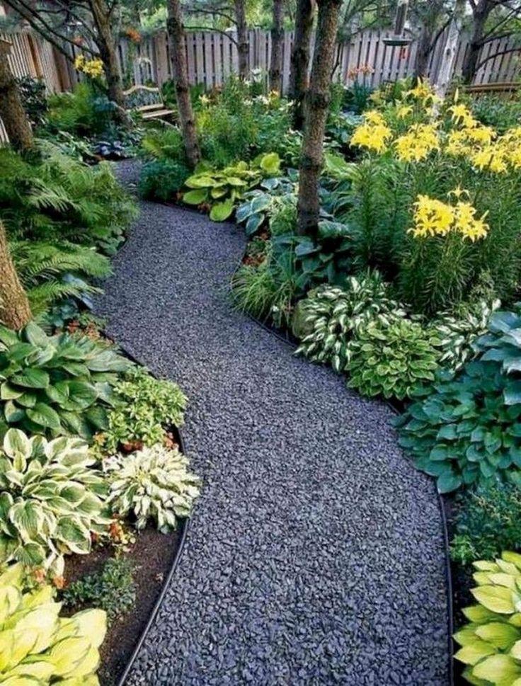 Schöne und preiswerte einfache Vorgarten-Landschaftsgestaltung-Ideen 52 #yardlandscaping