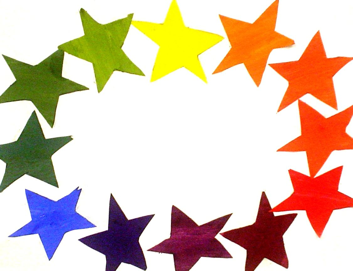 Color Wheel Stars Color Pinterest Creative Colour Color Wheel
