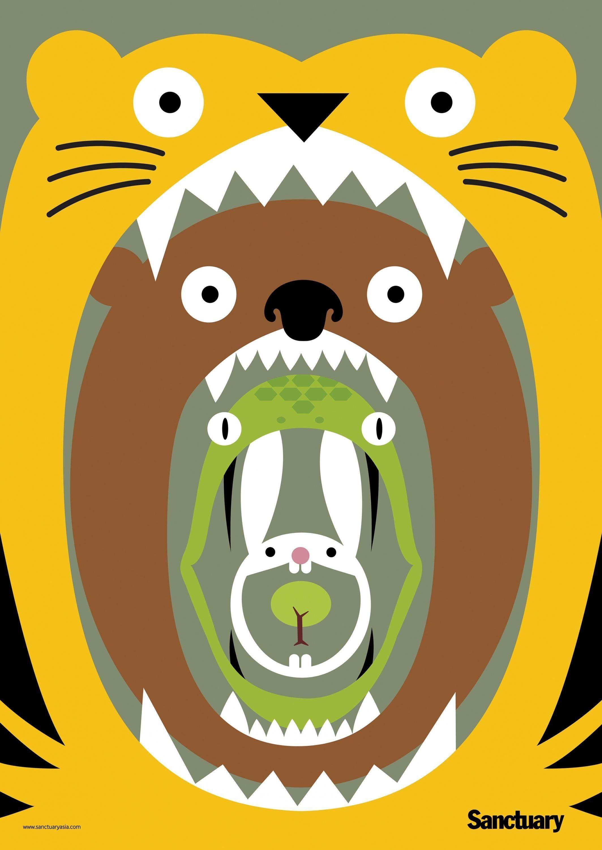 Sanctuary Magazine Mouths Save Trees