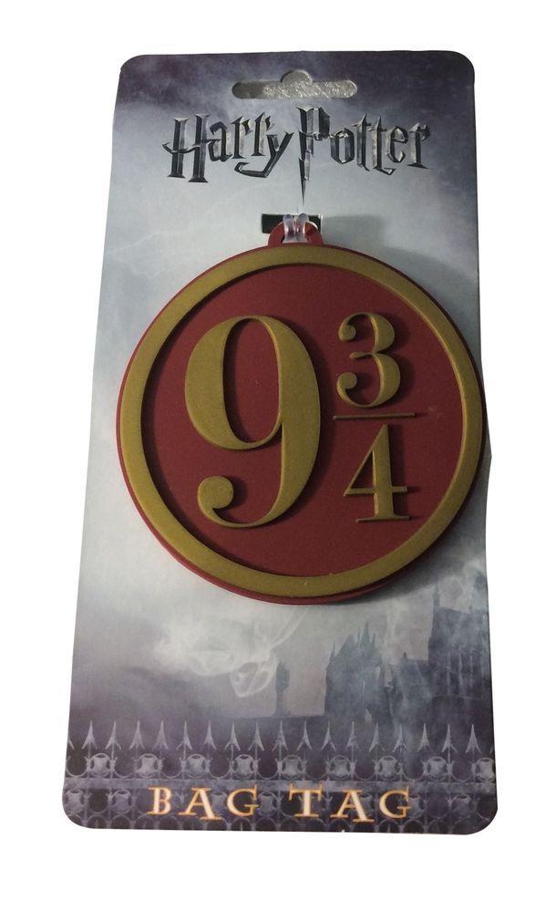 c0008fbbab38 Details about Harry Potter Luggage Tags Platform 9 3/4 Hogwarts ...
