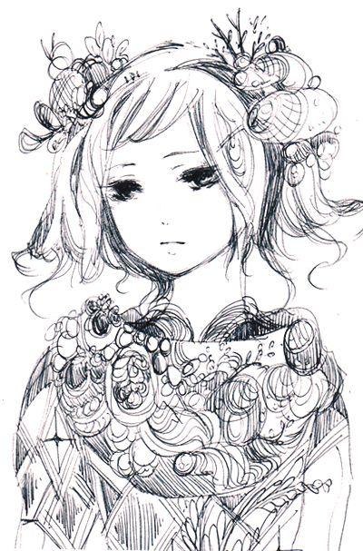 Cool sketch from maruti-bitamin.tumblr.com