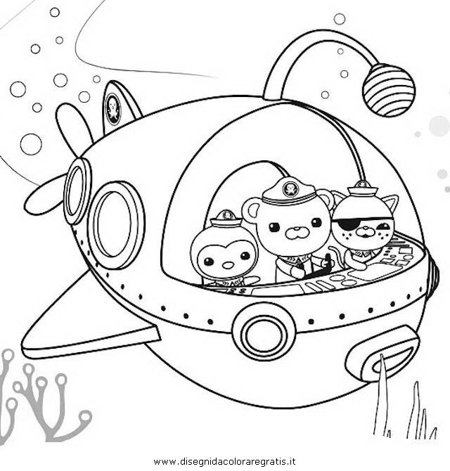 Super Octonauts Colouring Pages Free Coloring Pages Coloring Pages Colouring Pages