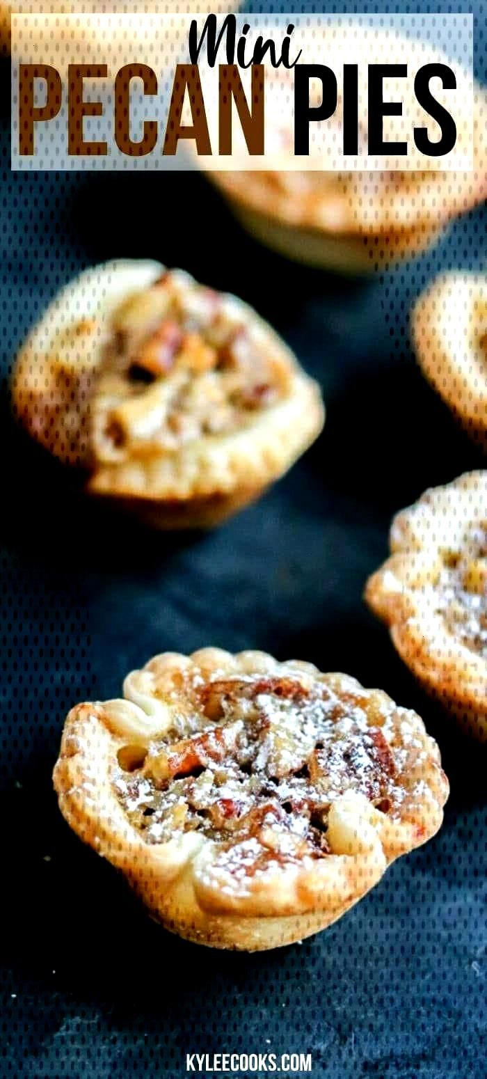 Mini Pecan Pies | Kylee Cooks - Recipes from Kylee Cooks -