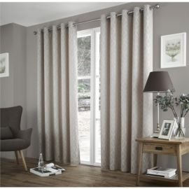 3254364c435 Buy Curtina Harlow Taupe Thermal Backed Curtains -90x108 Inches from our Eyelet  Curtains range -