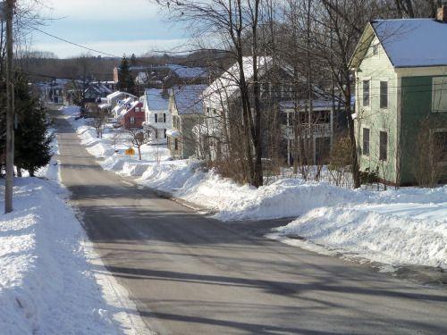 South Berwick, Maine | Red barn, England winter, Maine