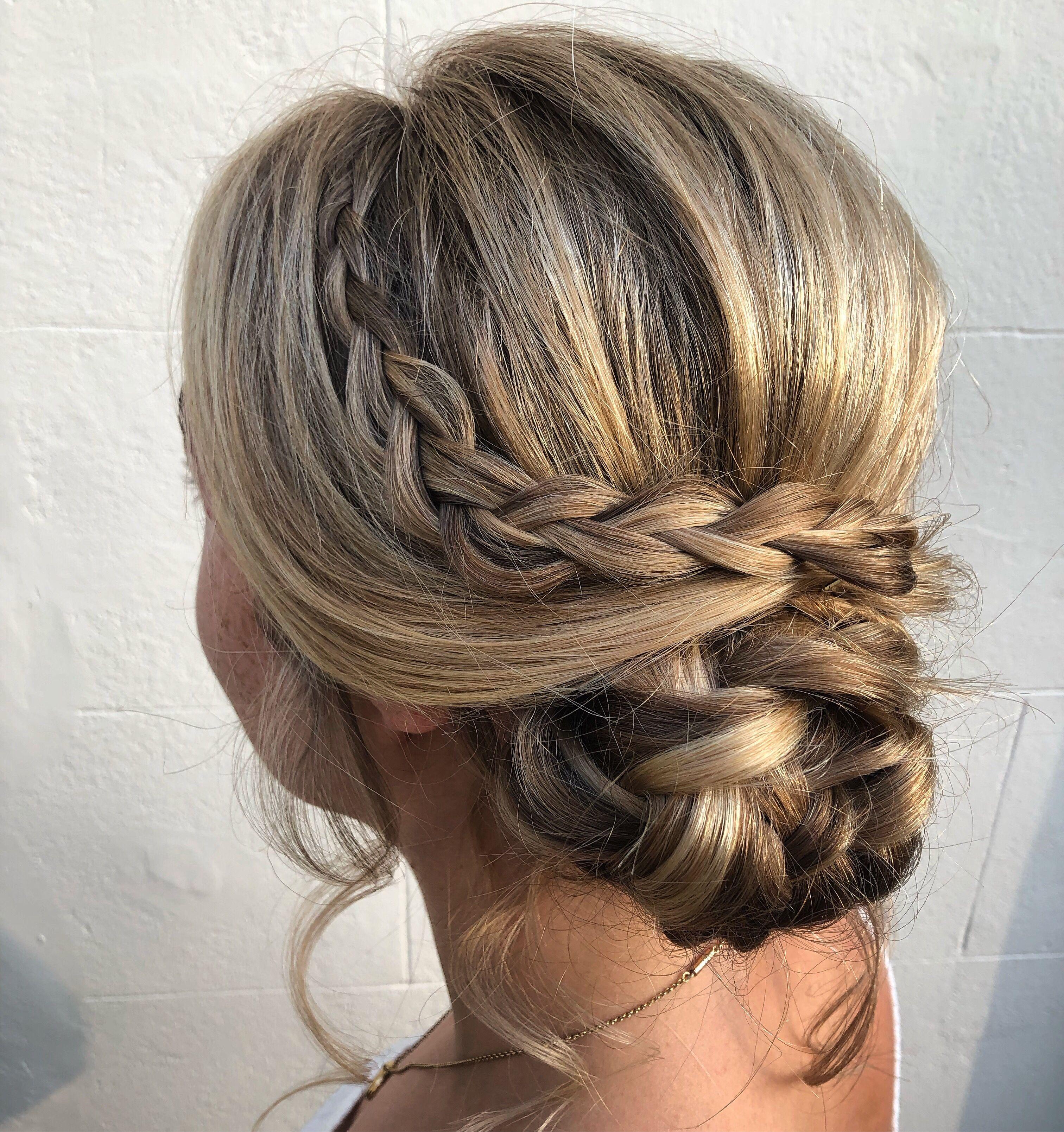 Plaited Hair Up Plait Hair Up Plaits Hairstyles Bridal Hair Plaits