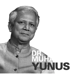 dr muhammad yunus founder of grameen movement bangladesh