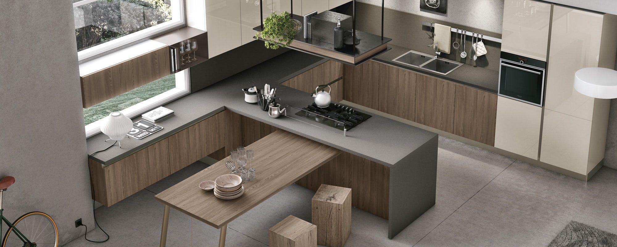 cucine moderne stosa - modello cucina infinity 05   Kitchen ...