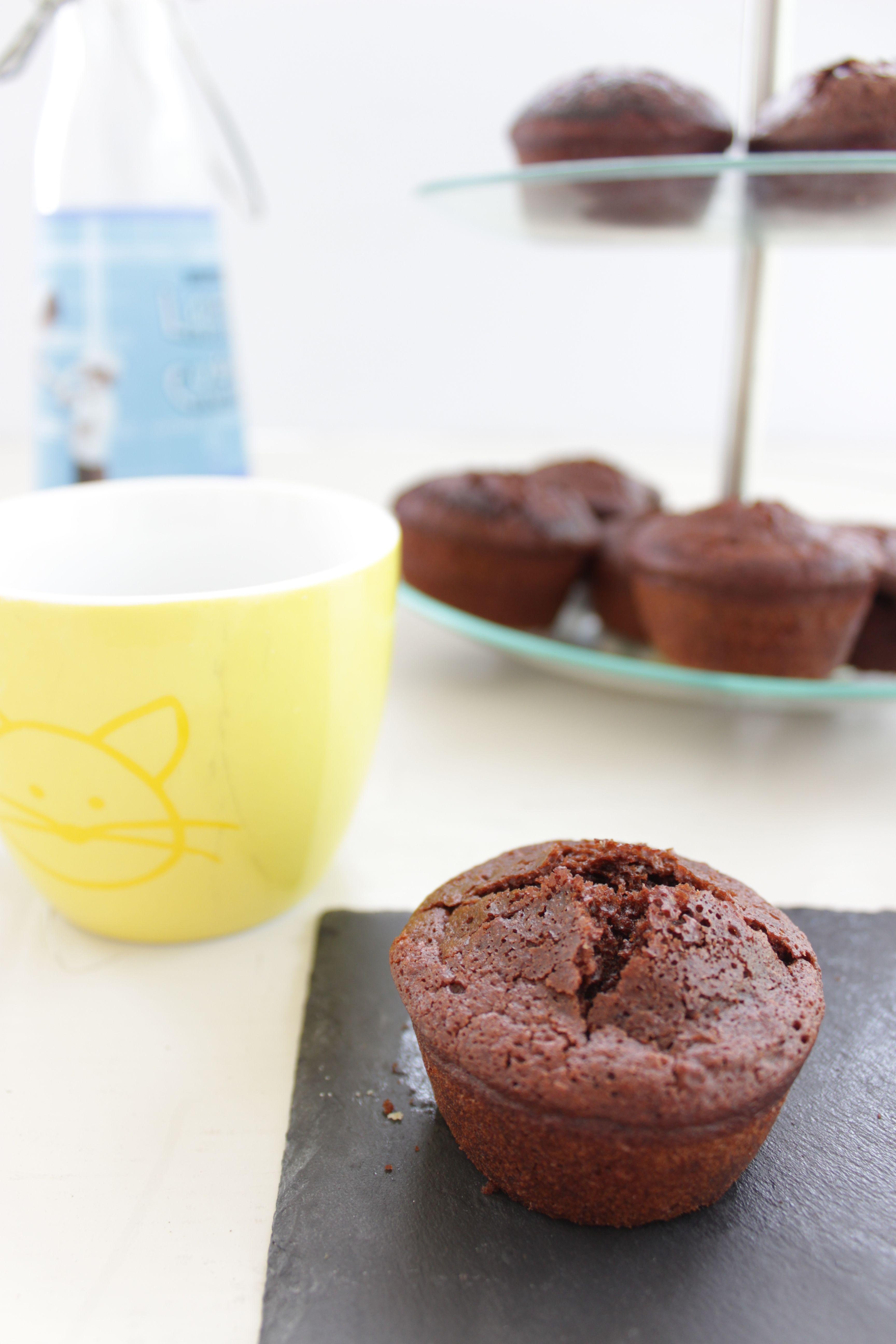 Muffins au chocolat cuits à la machine à muffins http://lalignegourmande.fr/recettes/biscuits-2/recette-de-muffins-au-chocolat/